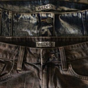 WILDFOX 2pc Bundle: Shorts 27 Skirt 26